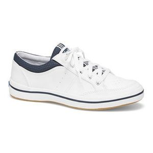 Keds White Leatherette Sneakers 9